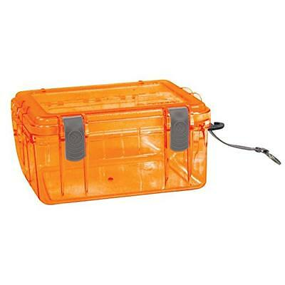 Outdoor Products Watertight Box, Large, Shocking Orange, New, Free Shipping
