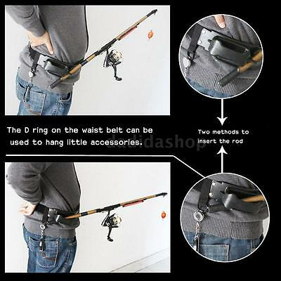 Big Fish Sea Fishing Fighting Belt Stand Up Fishing Belt Fishing Rod Holder R3I9