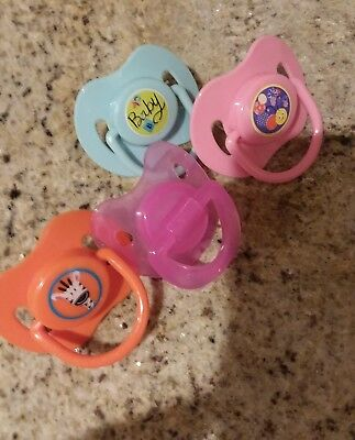 4 Cute Pacifiers To Fit Baby Alive , Snack Lily, 2010, Baby All Gone , Surprises