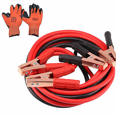 Heavy Duty 800AMP Booster Cable Long Start Jump Leads 6M Car Van Lead Copper