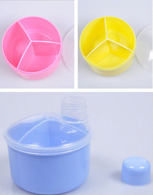 Storage Dispenser Box Powder Formula Milk Portable Baby Container Feeding Food