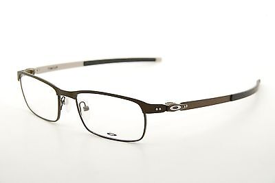 05813dd75c EYEGLASS FRAMES-OAKLEY METAL PLATE 22-199 Brushed Chrome 53mm ...