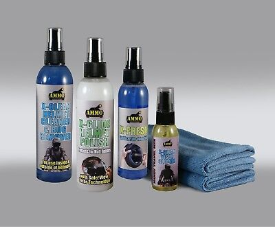 Ammo Complete Helmet Care With Free Hat! Great Gift For All Bikers!