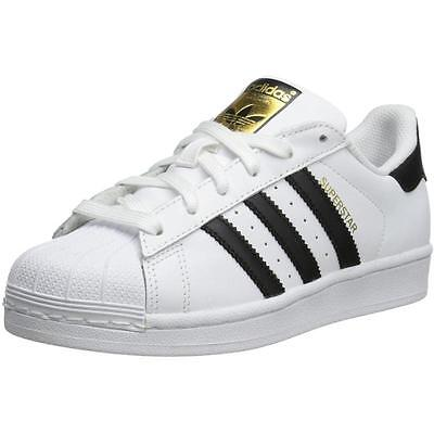 Adidas Originals Superstar Youth White Leather Trainers