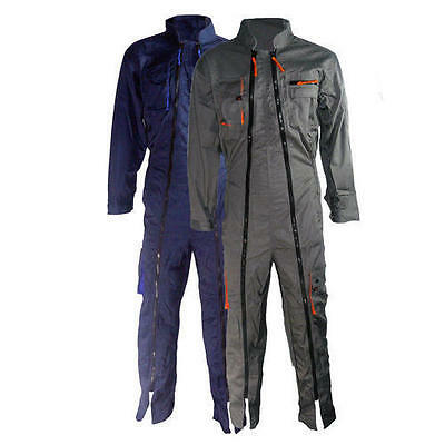 Delta Plus Panoply MACH2 Double Zip Coverall Overall Boilersuit - M2CDZ