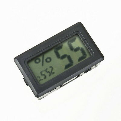 New Mini Digital LCD Thermometer Hygrometer Humidity Temperature Meter Indoor NR