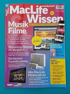 MacLife Wissen Sonderheft 04/2016 Entertainment-Guide ungelesen 1A absolut TOP