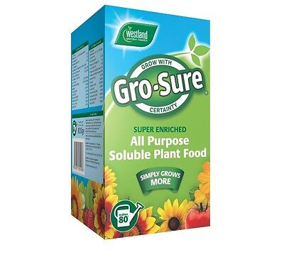 Gro-Sure All Purpose Soluble Plant Food - 800g