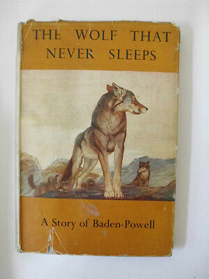 The Wolf That Never Sleeps - Baden-Powell By Marguerite De Beaumont  B1