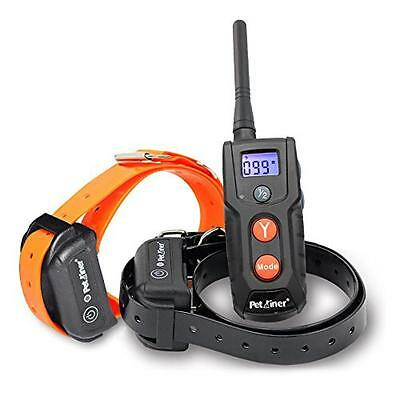 Petrainer PET916-2 330 yd Remote Rechargeable & Waterproof Dog Training Shock Co
