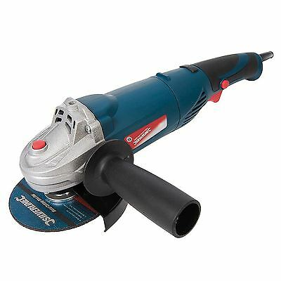 "Silverline Electric 900w Angle Grinder Cutting Grinding Heavy Duty 4.5"" 115mm"