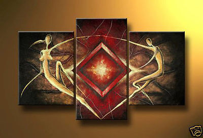 Huge Hand-painted Abstract Art Oil painting Wall Decor Canvas (No Frame)