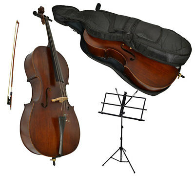 Sotendo 1/2 Size Student Cello with Music Stand