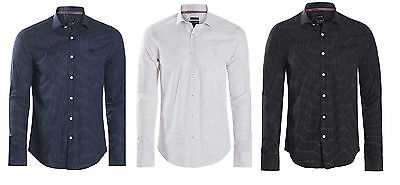 Armani Jeans Dotted Shirts for Men – Custom Fit Armani Spotted Shirts