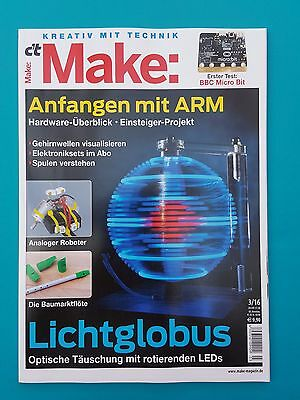 c`t Make Kreativ mit Technik 3/2016  neuwertig/ungelesen   1A absolut TOP
