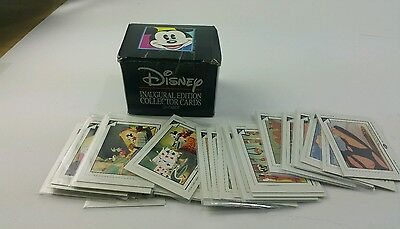 Complete 210 Card Disney 1991 Inaugural Edition Collector Set Skybox Fast Ship!