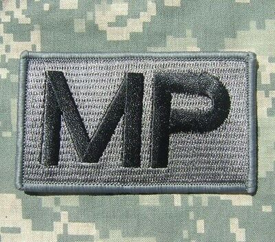 Military Police Mp Army Morale Combat Badge Acu Velcro® Brand Fastener Patch
