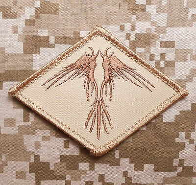 The Phoenix Tactical Usa Army Morale Combat Military Desert Hook Patch