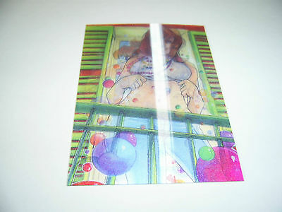 Francois Chartier 3D Lenticular Motion Card Let the Good Times Roll Island Dream
