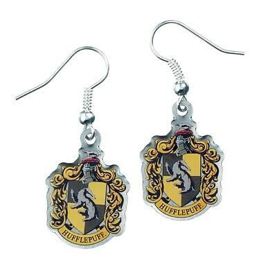 Harry Potter : HUFFLEPUFF CREST Earrings from The Carat Shop