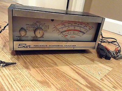 Vintage Sun Inductive Diagnostic Analyzer