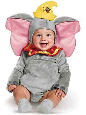 Dumbo Disney Baby Flying Elephant Fancy Dress Up Halloween Toddler Child Costume