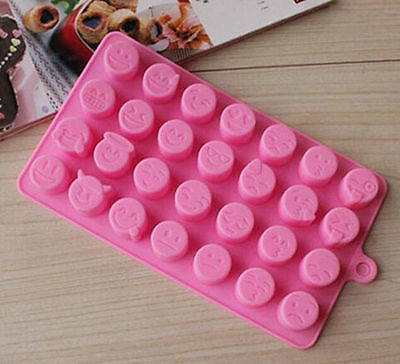 Chocolates 2016 Silicone Expression Mold Candy Cake New Arrival Emoji Baking Ice