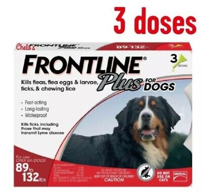 Frontline Plus For Extra Large Dog 89 - 132 lbs