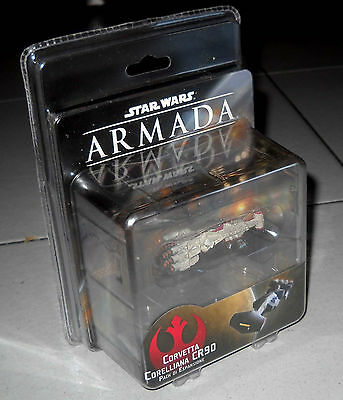 STAR WARS ARMADA Corvetta Corelliana CR90 PACK espansione NUOVO Miniature game