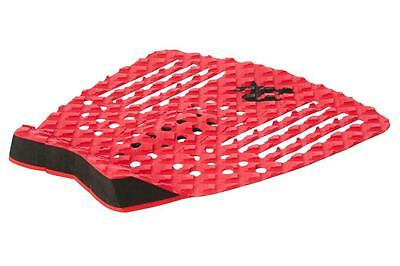 The Strike Surfboard Tail Pad - Deck Grip In Red From Creatures