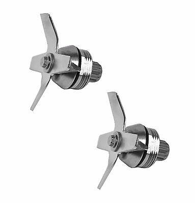 2 Pack - Ice Blade Assembly for Blenders, Replaces Vitamix 1151 or 1152