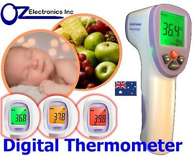 New Digital LCD Infrared Thermometer for Baby Adult Forehead Temperature colour