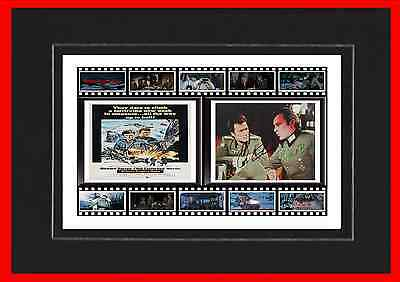 Where Eagles Dare Movie Mounted Display