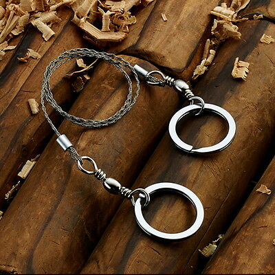 Portable Practical Emergency Survival Gear Steel Wire Saw Outdoor Tools NR