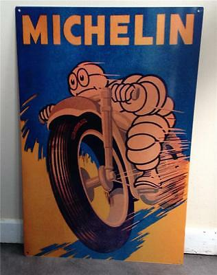 MICHELIN MAN Metal Sign 40 cmx 60 cm  Free POSTAGE
