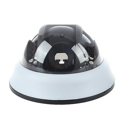 Outdoor CCTV Camera Black White Plastic Shell Round Dome Housing DT