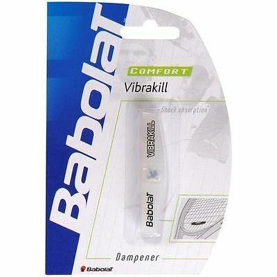 Babolat Vibrakill Tennis Vibration Dampener (Clear) NEW