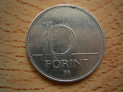2004 Hungary  10  forint Coin Collectable