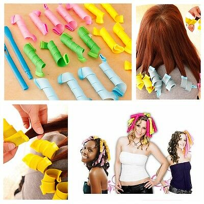 DIY Hair Rollers Curlers Large Magic Circle Twist Formers Spiral Styling Tools
