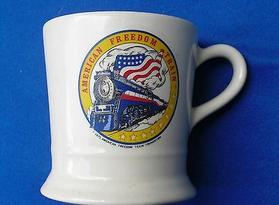 "4"" Ceramic~American Freedom Train Mug~1976"