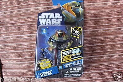 STAR WARS*Clone Wars*Seripas CW61*Canadian(4 Language) Card*2011*Mint in Pack