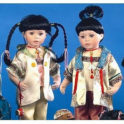 """Chilali - 16"""" Oriental Porcelain Doll Assorted styles"""
