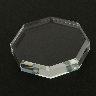 Crystal Glass Glue Holder Adhesive Pallet Stand for Eyelash Extensions Tool