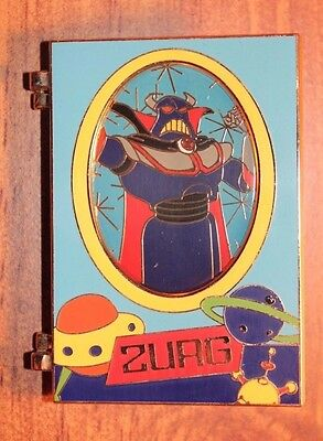 Disney Store Shopping LE 100 Pin Toy Story Package Art Emporer Zurg Hinged