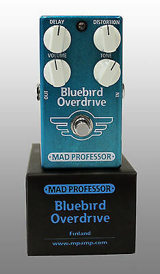 Mad Professor Bluebird Overdrive Delay Guitar Effects Pedal