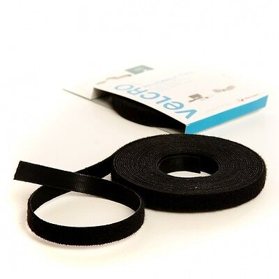 16mm x 1m VELCRO® velcro Hook and loop ONE-WRAP® double sided Strapping black