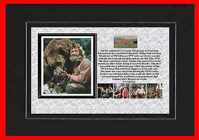 Grizzly Adams Tv Mounted Display