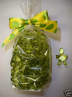 50 Green Summer Pear Boy Bath Oil Beads