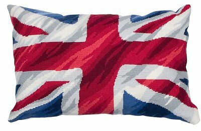 Anchor Living - Tapestry Cushion Front Kit - Union Jack  - ALR33