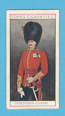 Military  -  Cope  Bros.  -  Rare Eminent British Officers Card No.  10  -  1908